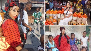 Victoria Kimani ashoot video ya collabo na Professor  Jay
