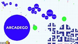 AGAR.IO - FINAL Battle Epic First Place Battle! (The Most ADDICTIVE Game)
