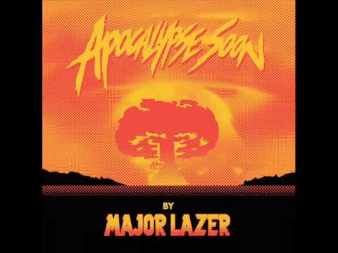 Major Lazer Ft. Pharrell Williams- Aerosol Can [Instrumental]