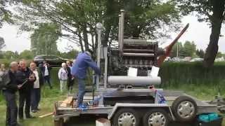 Start Junkersmotor JUMO 205C Flugzeugmotor Gegenkolben Diesel Flugmotor JU 52
