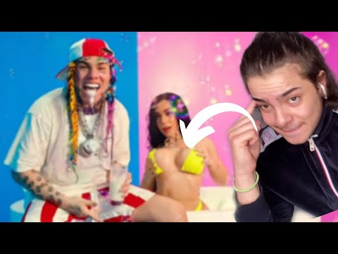 6IX9INE- YAYA (Official Music Video) - [FRENCH REACTION]