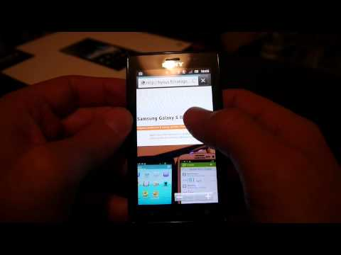 Test Sony Xperia Sola - Web browsing & Floating Touch !