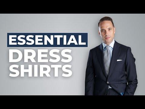The Only 5 Dress Shirts You'll Ever Need | Menswear Wardrobe Basics