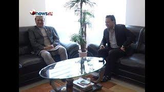 सञ्चार क्षेत्रको समस्या समाधान गर्न मन्त्री बस्नेत प्रतिबद्ध – NEWS24 TV