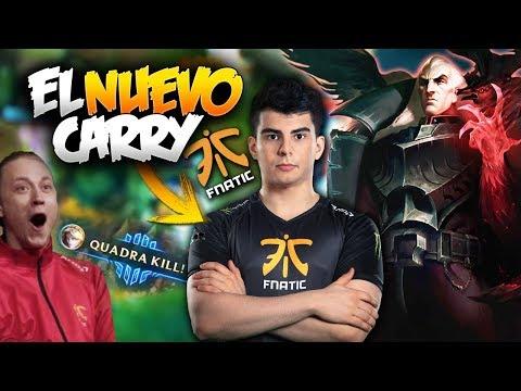 EL NUEVO TOP DE FNATIC CARRILEA!! (con REKKLES) | FNC vs GIANTS | LCS Español (LVP)