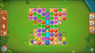 gardenscapes Level 193 No Booster  l MiniGames