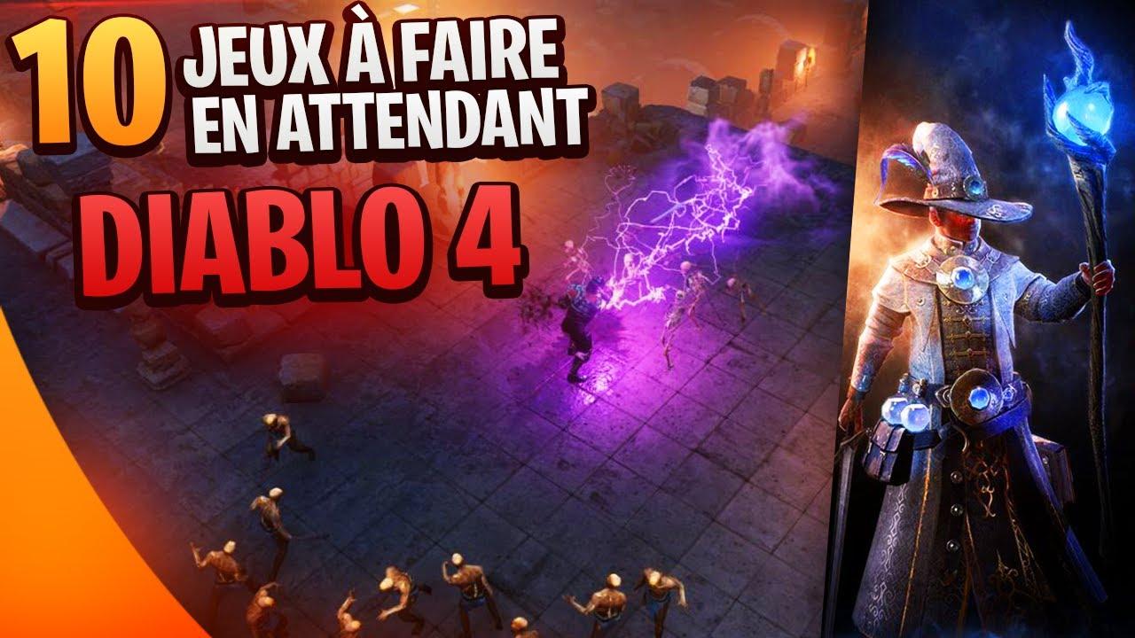 10 JEUX À FAIRE en attendant Diablo 4 ⚔️