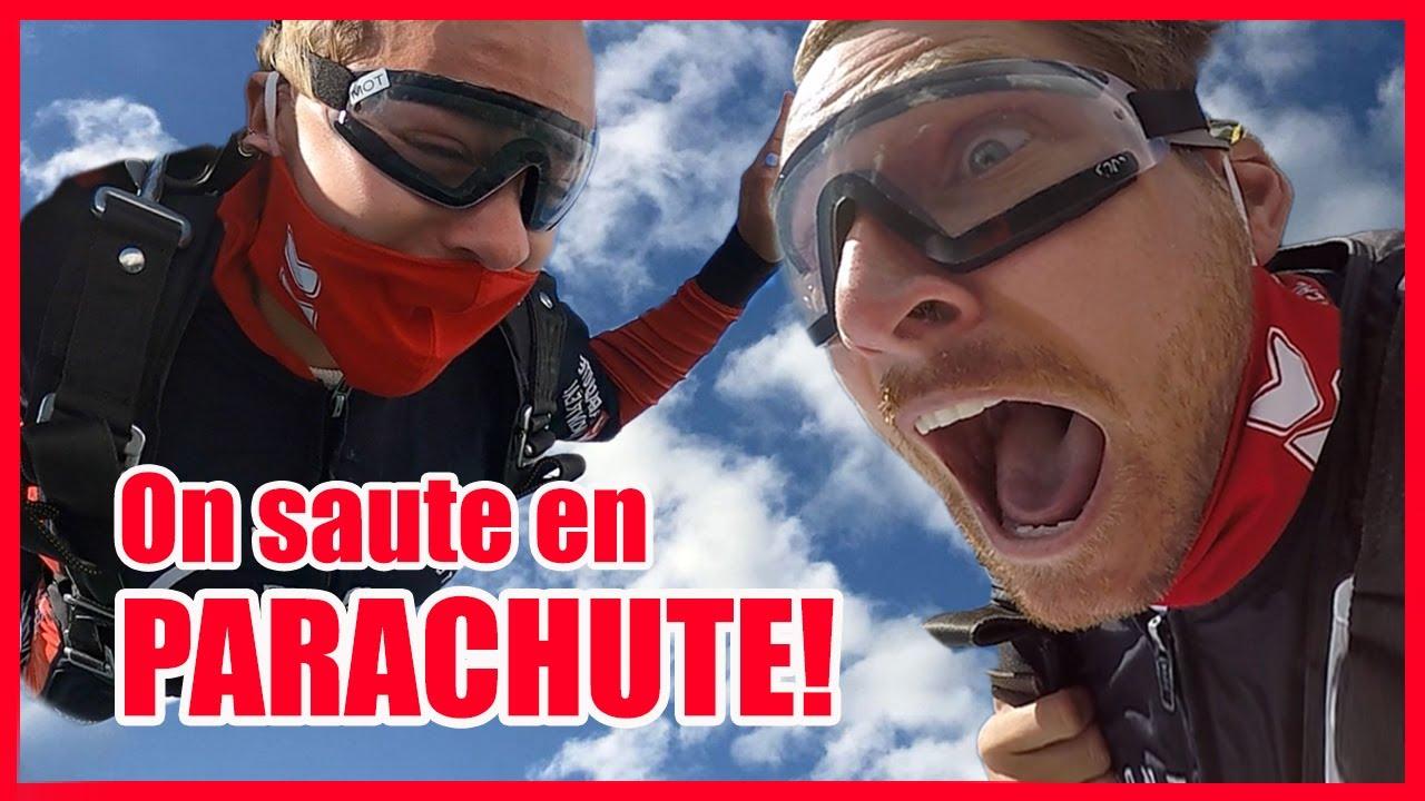 ON SAUTE EN PARACHUTE! // P.O et Marina