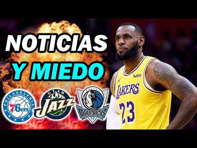 UNA MALA NOTICIA Y ACTUALIDAD NBA