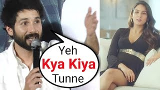 Shahid Kapoor ANGRY Reaction On Mira Rajput Advertisement Controversy