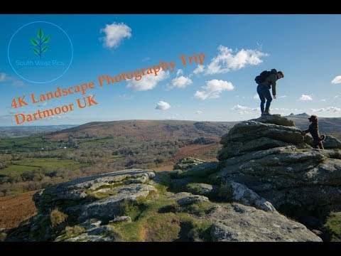 4K Landscape Photography Vlog, Dartmoor UK