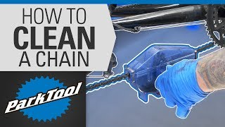 How To Clean and Lube a Bicycle Chain with a Park Tool Chain Cleaner