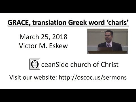 What does the name grace mean in greek