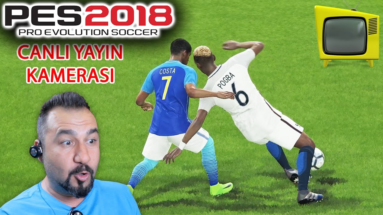 CANLI TV KAMERASI! | PES 2018 ONLINE BETA