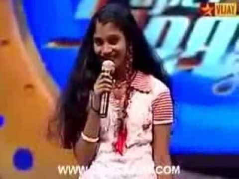 Aietel Super Singer Junior2, Alka Agith 03 03 2010  Mannippaya vinnai thandi varuvaya   YouTube