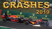 F1 2019 ALL Crashes & Mistakes - mid season
