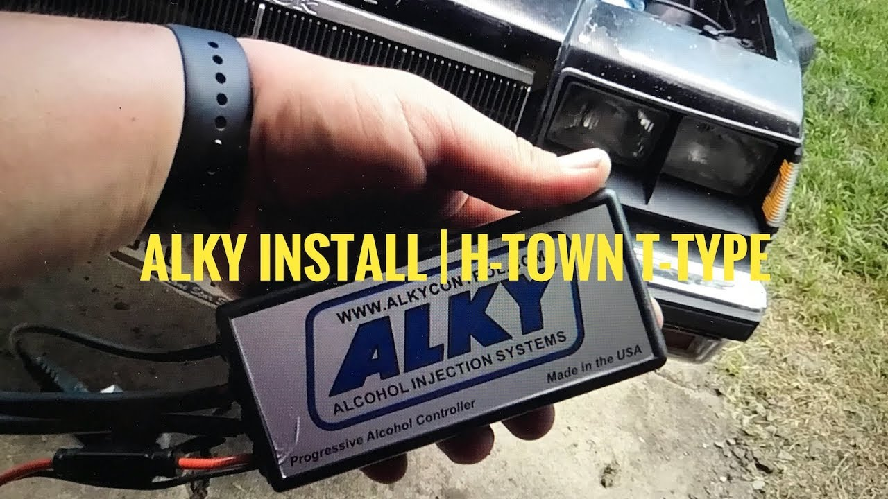 Alky Methanol Injection Installation