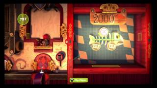 LittleBigPlanet 3 : Bunkum Lagoon : Contraption Challenge - Joust In Time