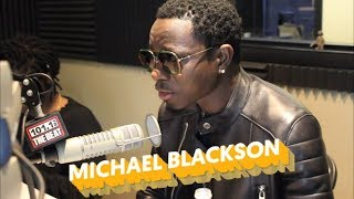 Michael Blackson interview w/ Jackie Morales [101.1 The Beat WAKE UP CREW]