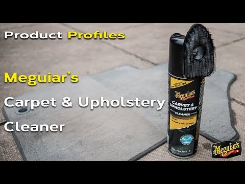 Meguiar's Carpet and Upholstery Cleaner - Product Profiles