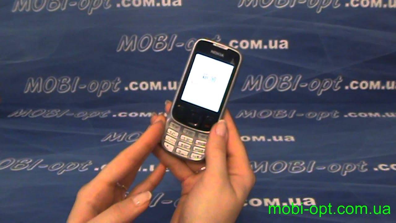 Обзор Китайский телефон Nokia (Bocoin) 6303 TV - YouTube