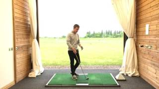 How to control the arc of your golf swing with the steep to shallow swing shape