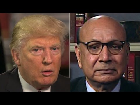 Khizr Khan on Trump's refugee ban