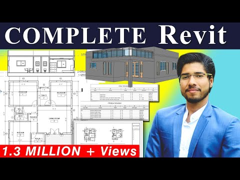 [ COMPLETE ] REVIT 2 Hours Tutorial | Revit BIM Project for Beginners Tutorial thumbnail