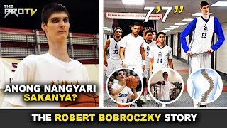 Nakakalungkot na Nangyari sa 7'7 High School player na si Robert Bobroczky!   No College Offer!