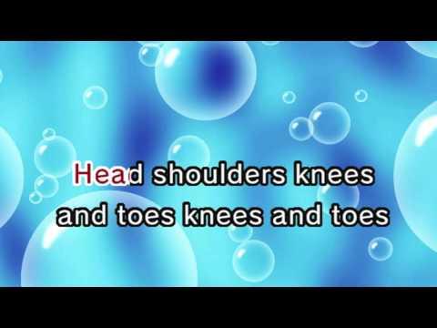 Head Shoulder Knees and Toes  (Karaoke and Lyric Version)