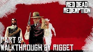 """Red Dead Redemption Прохождение с переводом Часть 2 """"Маршал Джонсон"""""""
