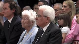 Intervento del Presidente della Repubblica all'inaugurazione della Fondazione Giovanni Agnelli