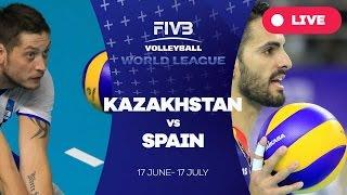 Kazakhstan v Spain - Group 3: 2016 FIVB Volleyball World League