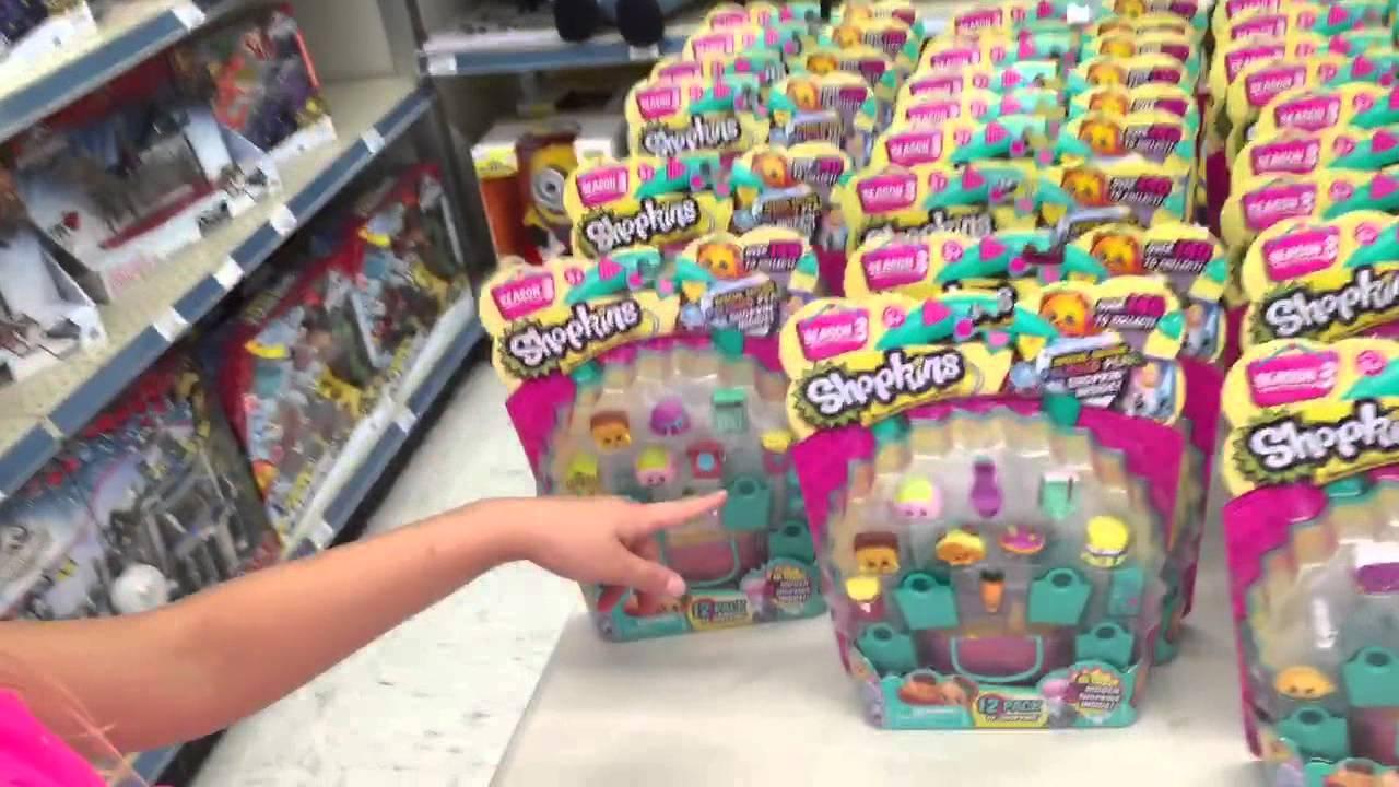Dad Grim Buys Us Season 3 Shopkins At Toysrus Youtube
