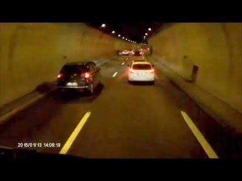 VOLVO FH13 Klaxon sncf dans tunnel