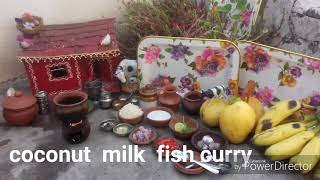 Coconut milk fish curry /ep#10/anu kids kitchen