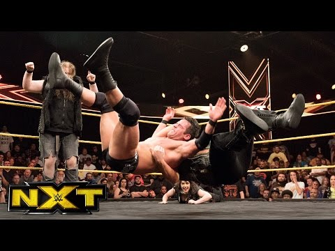SAnitY lays out Roderick Strong following NXT main event: NXT Exclusive, May 10, 2017