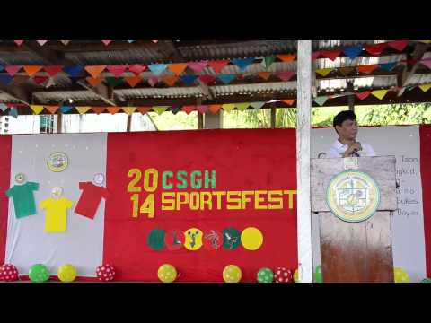OPENING remarks SPORTSFEST 2014 - YouTube