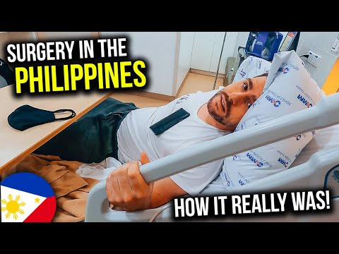 My first SURGERY at a MANILA HOSPITAL - Unexpected Experience!