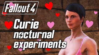 Fallout 4 - Curie Asks You to Have Sex with Her No, really.