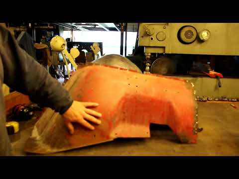 Willys CJ5 Front Fender Fabrication, Inner Fender
