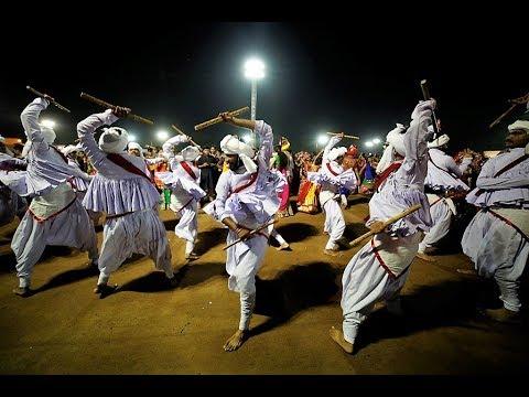 Live Gandhinagar Cultural Forum Navli Navratri 2017: Day 3 Garba Namokar Cultural Group