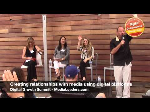 Creating media relationships using digital platforms for PR