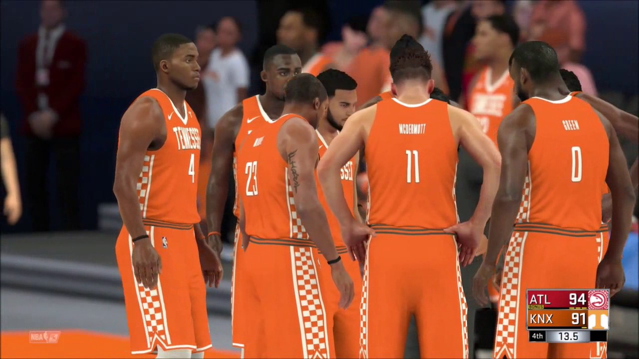 Tennessee vols nba 2k17 highlights created team youtube publicscrutiny Gallery
