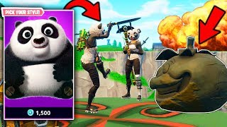🐼 MAGISTRAL VICTORY with PANDA X4 LEGENDARY SKIN!!! | FORTNITE: Battle Royale APIXELADOS