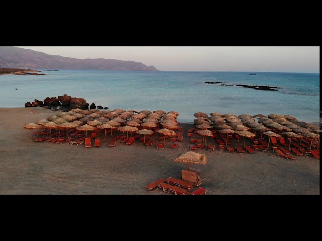 Crete / Kreta , Greece - Drone DJI MAVIC AIR