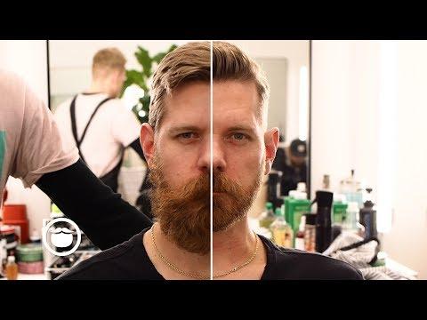 Amazing Haircut & Huge Beard Transformation