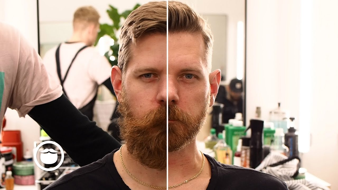 Amazing Haircut U0026 Huge Beard Transformation