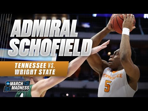 Tennessee basketball: Admiral Schofield has double-double against Wright State