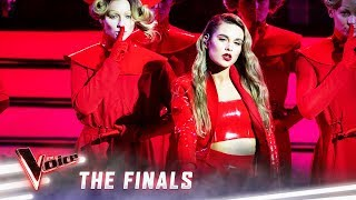 The Finals: Madi Krstevski sings 'Look What You Made Me Do' | The Voice Australia 2019